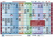СИСТЕМНАЯ ТАБЛИЦА МАТЕРИАЛОВ ДЛЯ ШИРОКОФОРМАТНОЙ ПЕЧАТИ ПО ТЕХНОЛОГИЯМ ВОДНЫХ ЧЕРНИЛ (1 страница)