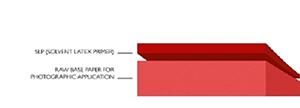 Структурная схема фотобумаги