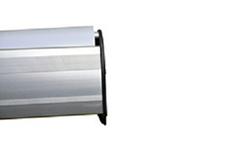 Боковые стенки rollup из прочного ABS-пластика толщиной 3мм