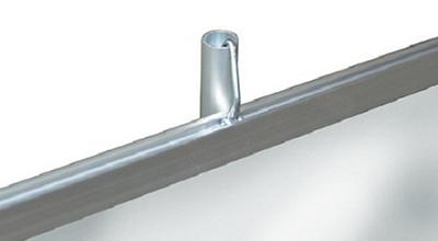 Верхняя зажимная планка повышенной прочности с крючком (тип А)
