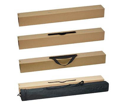Каждый стенд упакован в индивидуальную коробку