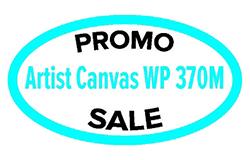 Акция на Artist Canvas 370г/м2. Натуральный холст по 192руб/м2
