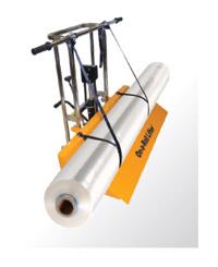 On-A-Roll Lifter может использоваться для транспортировки пленки