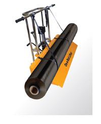 On-A-Roll Lifter может использоваться для транспортировки ламинирующей пленки